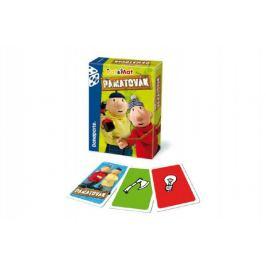 Teddies Pat a Mat 49387 Pamatovák postřehová karetní hra v krabičce 11x15x3cm