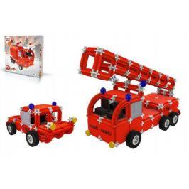 Seva Rescue hasiči 1 Stavebnice plast v krabici 35x33x8cm