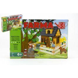 Stavebnice Dromader Farma 28503 214ks v krabici 32x21,5x5cm