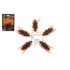 Švábi hmyz 5ks plast na kartě 11x15cm