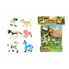 Veselá zvířátka Farma 6ks v sáčku 26x34x4cm