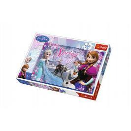 Puzzle Ledové království/Frozen 260 dílků 60x40cm v krabici