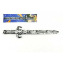 Rytířský meč s pouzdrem plast 52cm na kartě