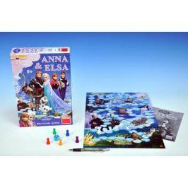 Ledové království/Frozen Anna a Elsa společenská hra v krabici 20x29,5x6,5cm