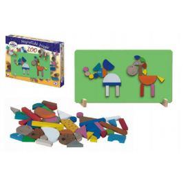 ZOO Magnetické puzzle v krabici 33x23x3,5cm