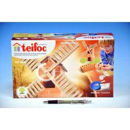 Teifoc Větrný mlýn v krabici 29x18x8cm