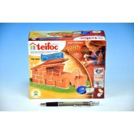 Stavebnice Teifoc Domek Horses v krabici 18x15x8cm