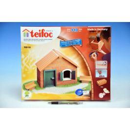 Teddies Teifoc 48248 Stavebnice Domek Daniel 110ks v krabici 35x29x4,5cm