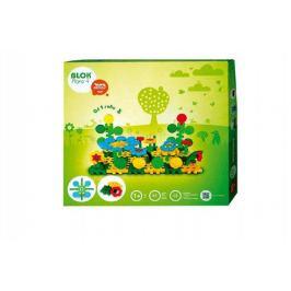 Stavebnice Blok Flora 4 plast 85ks v krabici 35x33,5x5,5cm 12m+