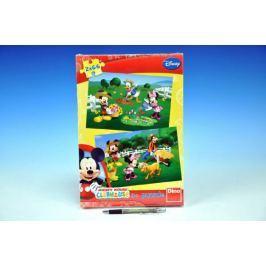 Puzzle Minnie 2x66dílků 32,3x22cm v krabici