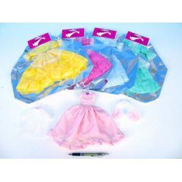Šaty/Oblečky na panenky asst v sáčku 27x30cm
