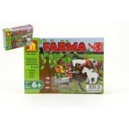 Stavebnice Dromader Farma 28302 89ks v krabici 18,5x13x4,5cm Ostatní stavebnice