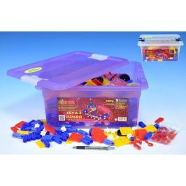 Stavebnice Seva 3 Jumbo plast 1074ks v plastovém boxu 39x17x30cm