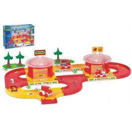 Kid cars 3D Hasiči plast 3,1m v krabici 59x40x15cm 12m+ Wader