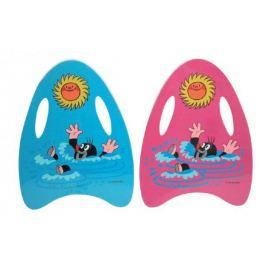 Krtek Plavací deska pěnová 33x2 barvy v sáčku