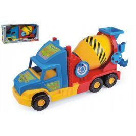 Auto Super Truck domíchávač Wader 53cm asst 2 barvy v krabici