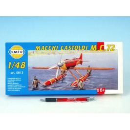 Macchi Castoldi M.C.72 Model 1:17,v krabici 31x13,5x3,5cm