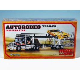 Stavebnice Monti 39 Autorodeo trailer Western star 1:48 v krabici 32x20x7,5cm