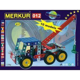 Stavebnice MERKUR 012 Odtahové vozidlo 10 modelů 217ks v krabici 26x18x5cm Stavebnice Merkur