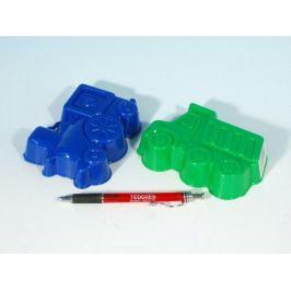 LORI Formičky/Bábovky plast 13cm asst 4 barvy v síťce od 12 měsíců