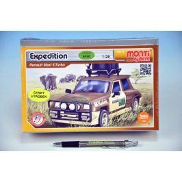 Stavebnice Monti 14 Expedice-Renault M.5 T. 1:28 v krabici 22x15x6cm