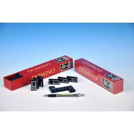 Domino společenská hra dřevo v krabičce 23,5x3,5x5cm
