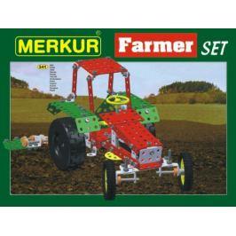 MERKUR Farmer Set Stavebnice 20 modelů 3v krabici 36x27x5,5cm