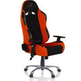 RACEMASTER® RS Series 47009 Kancelářská židle - černá/oranžová