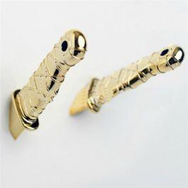Magnetické Ninja nože - zlatá