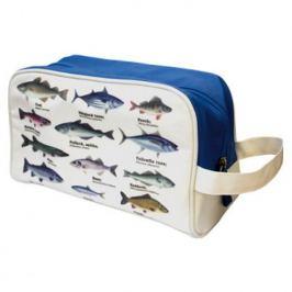 Toaletní taška s rybami