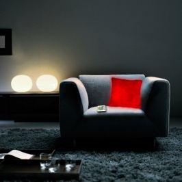Svítící dekorační polštář měnící barvu