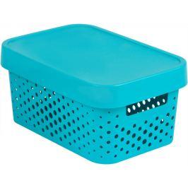 CURVER INFINITY DOTS Úložný box 4,5L - modrý