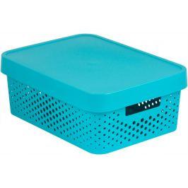 CURVER INFINITY DOTS 41560 Úložný box 11L - modrý