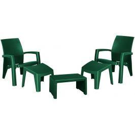 Allibert LAGO MAXI 41476 Zahradní plastový set - zelený