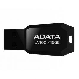 Adata USB 2.0 DashDrive UV100  Flashdisk 16GB černý