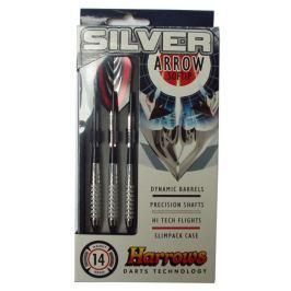 Harrows SOFT SILVER ARROW Šipky s plastovým hrotem 14g