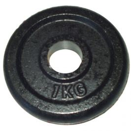 CorbySport 4734 Litinový kotouč (závaží) na činky 1kg- 25 mm