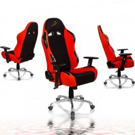 """RACEMASTER """"RS Series"""" Židle - černá/oranžová"""
