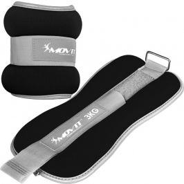 MOVIT 66378 Neoprenové zátěžové reflexní manžety - 2 x 3 kg
