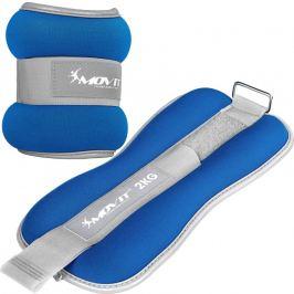 MOVIT 66381 Neoprenové zátěžové reflexní manžety 2 x 2 kg