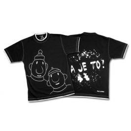 Tričko, pánská kolekce Pat a Mat - velikost L