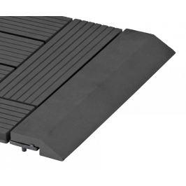 G21 57644 Přechodová lišta pro WPC dlaždice Eben, 30x7,5 cm rovná