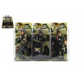 Voják figurka plast 10cm - 3 druhy