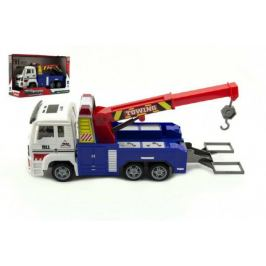 Teddies 58006 Auto nákladní odtahovka plast 24cm na baterie se světlem se zvukem