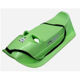 CorbySport Pinguin, Alfa 27998 Plastové sáňky- zelené