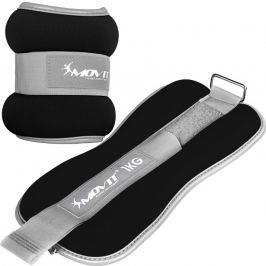 MOVIT 66376 Neoprenové zátěžové reflexní manžety - 2 x 1 kg