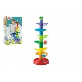 Kuličková dráha - věž 10ks 3 kuličky plast