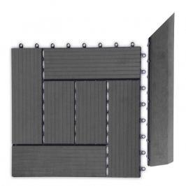 G21 57645 Přechodová lišta pro WPC dlaždice Eben, 38,5x7,5 cm rohová (pravá)