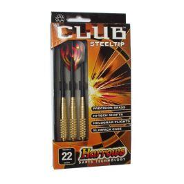 Harrows STEEL CLUB Šipky s kovovým hrotem 22 g