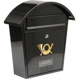 Vorel Poštovní schránka se stříškou oblou - černá